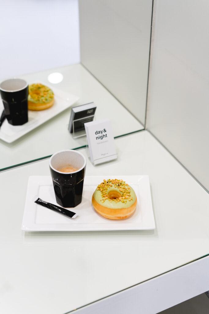 koffie en een donut
